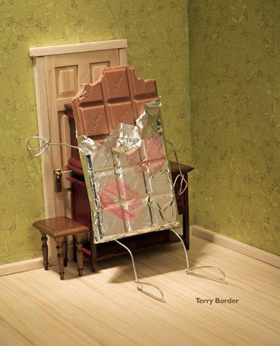 La creatività di Terry Border dà vita a cibi ed oggetti della vita quotidiana
