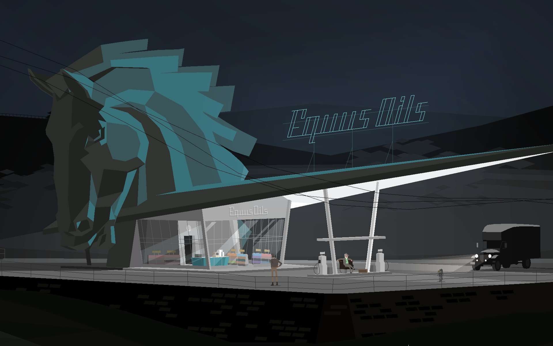 Equus Oil - Kentucky Route Zero