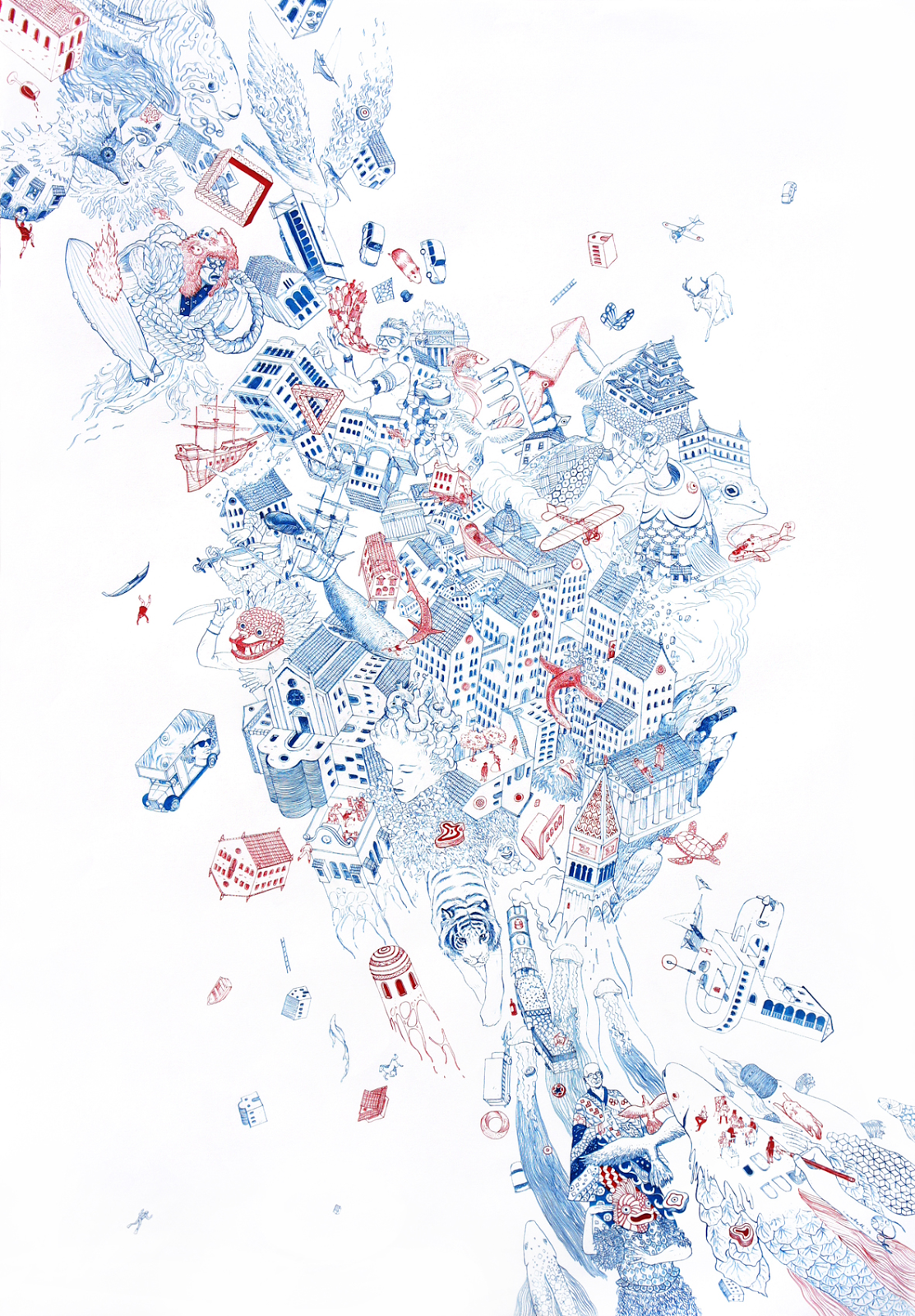 The intricate illustrations of Nicolas Castell