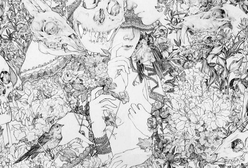 Fumi Mini Nakamura illustrations